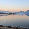 Sunset reflection on Osoyoos Lake