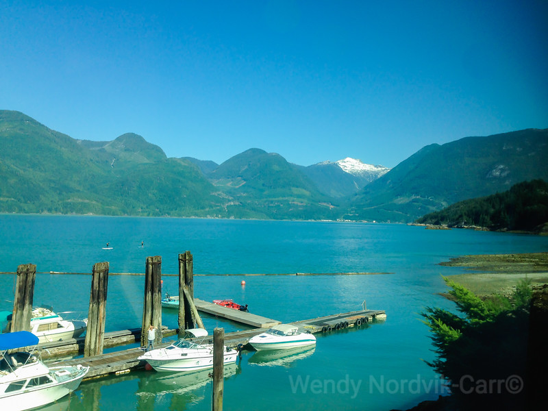 Scenic travel by rail to Whistler on the Rocky Mountaineer train