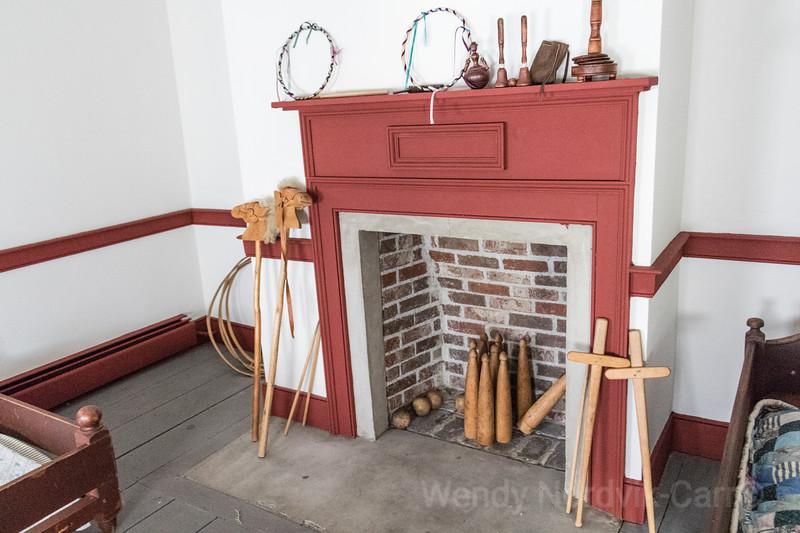 Historic Colonial homes in Sydney, Nova Scotia -  Antique Toys