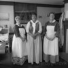 Cossit House Museum - Women in historic costumes, Sydney, Nova Scotia
