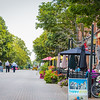 Charlottetown's Victoria Row is a charming area of historic buildings