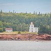Amherst National Historic Site and Blockhouse Point Lighthouse located on PEI