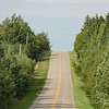 PEI scenic Red Sands Shore drive to historic Fort Amherst National Historic Site