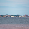 Harbour view of Charlottetown, PEI from historic Fort Amherst