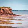 Prince Edward Island's scenic Red Sands Shore drive to historic Fort Amherst