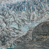 Dazzling peaks of ice of spectacular Mendenhall Glacier in Juneau. Top things to do Crusing to Alaska Ports of Call Shore Excursions