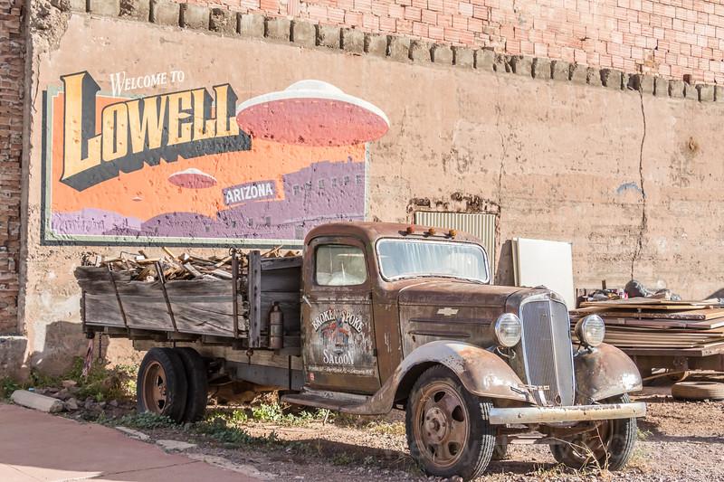 Explore historic Lowell Arizona old 50s town