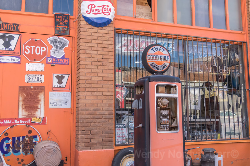 Explore historic Lowell Arizona old 50s cars fill the town