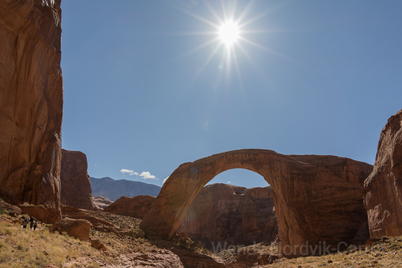 Explore things to do spectacular Rainbow Bridge in Glen Canyon road trip Lake Powell