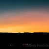 Incredible sunset Lake Powell