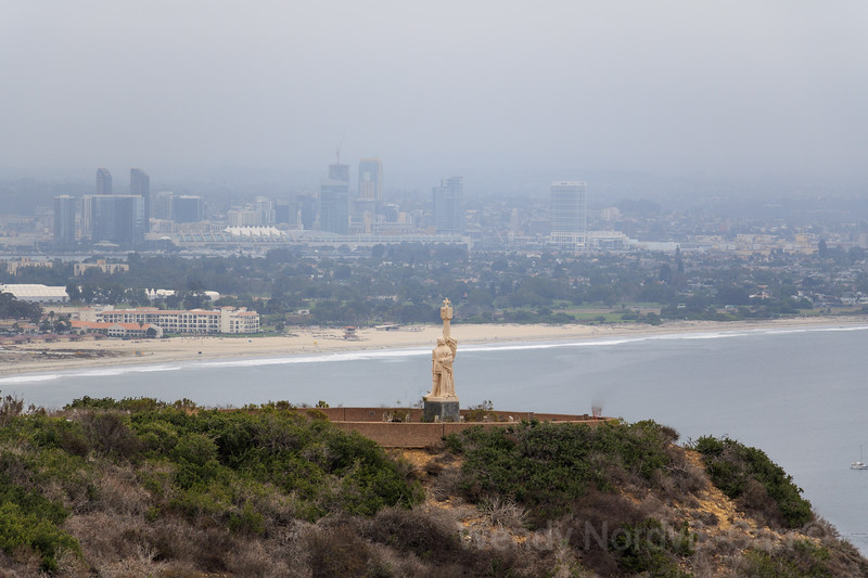 A national monument to Spanish explorer Juan Rodrigues Cabrillo