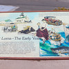 Point Loma in the early years - informational sign