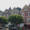 These colourful painted Victoria Homes are located in the Haight-Ashbury district of San Francisco, California.