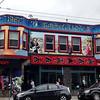 Colorful San Francisco shops Haight-Ashbury