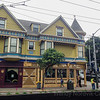 Victorian houses in San Francisco Haight-Ashbury, California