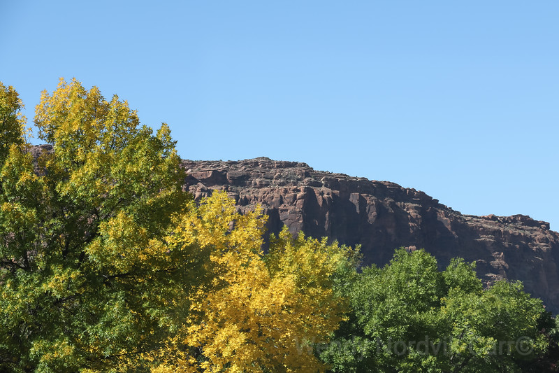 Stunning fall colours - Utah's most scenic route from Moab to Bryce Canyon