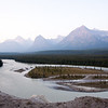 Icefields Parkway<br /> Scenery from the Goats & Glaciers Viewpoint.