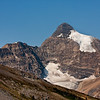 Parker Ridge Hike<br /> Glimpse of a couple more glaciers on a distant peak.