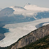 Parker Ridge Hike<br /> At 5-mile (~9 km) long, the Saskatchewan Glacier is the longest outlet valley glacier of the Columbia Icefield.