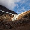 Path of the Glacier Trail - Angel Glacier