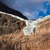 Path of the Glacier Trail - Angel Glacier<br /> From what I've read, before it started receding, the glacier did resemble an angel with its wings outstretched.  From this angle, it reminds me more of a bird flying away with its wings outstretched.