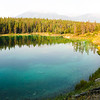 Valley of the Five Lakes Hike<br /> Pano of Fourth Lake.