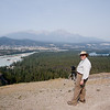 """Old Fort Point Hike<br /> A """"Mui hiked the trail"""" photo op."""
