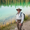 """Valley of the Five Lakes Hike<br /> A """"Mui at Fifth Lake"""" photo op."""