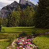 Cascade Gardens, Banff Townsite: It's not hard to imagine that a scene like this one might have been the inspiration behind the creation of Cascade Gardens.