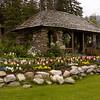 Cascade Gardens, Banff Townsite: Here is one of the gazebos at Cascade Gardens.