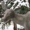 White Tailed Deer - 1990<br /> Leo Mol Sculpture Garden