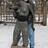 "Nothing like holding onto a ""Dream"" (1974) for as long as you can.<br /> Leo Mol Sculpture Garden"