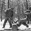 Lumberjacks - 1990<br /> Leo Mol Sculpture Garden