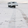 ... there are tracks on the tundra.