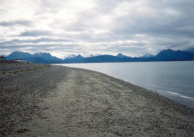 Beach at Homer Spit