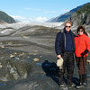 Alan and Donna Hull on Baird Glacier in southeastern Alaska