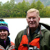 Donna and Alan Hull on Davidson Glacier excursion in Skagway, Alaska
