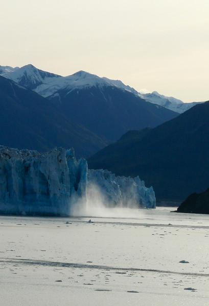 Hubbard Glacier calves