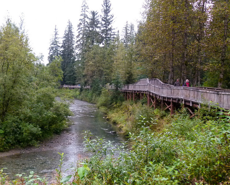 Fish Creek viewing platform