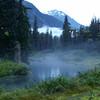 misty alaska day