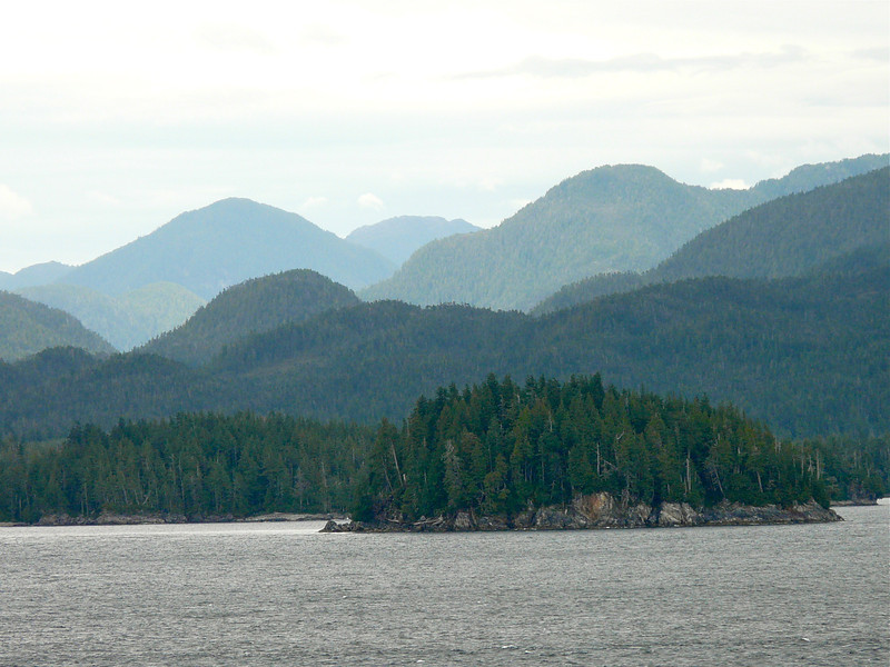 Tongass Narrows approaching Ketchikan, Alaska