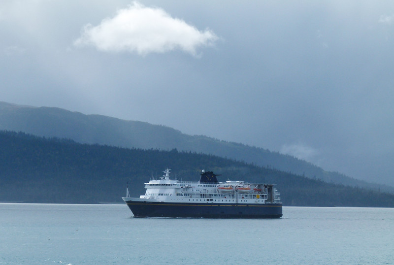 M/V Kennicott ferry ship on its way to Homer