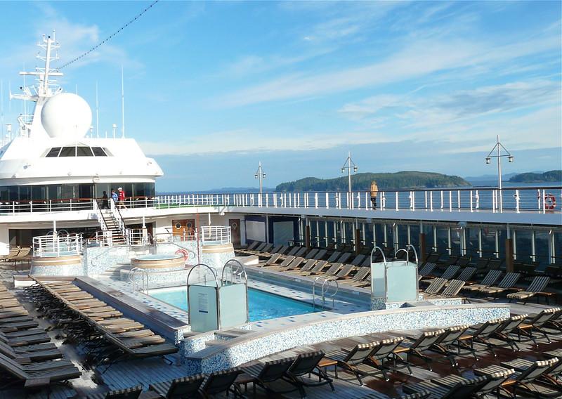 Outside deck, Regent Mariner