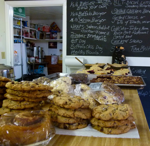 Best baked goods in Alaska at Chicken Creek Cafe