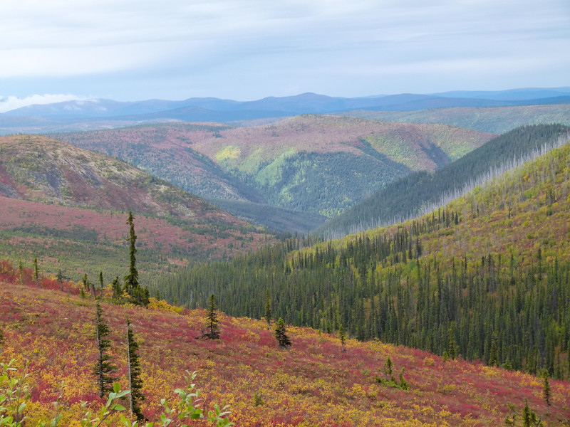 Top of the Highway in the Yukon Territory of Canada