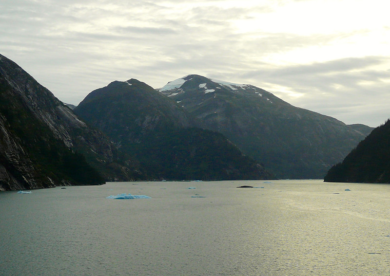 Exploring Tracy Arm on Regent Seven Seas Mariner