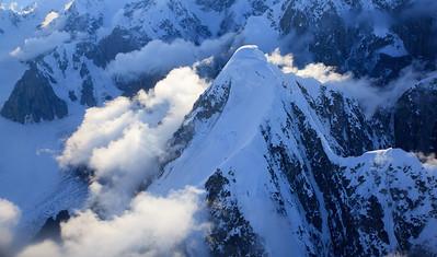 Flightseeing over Denali