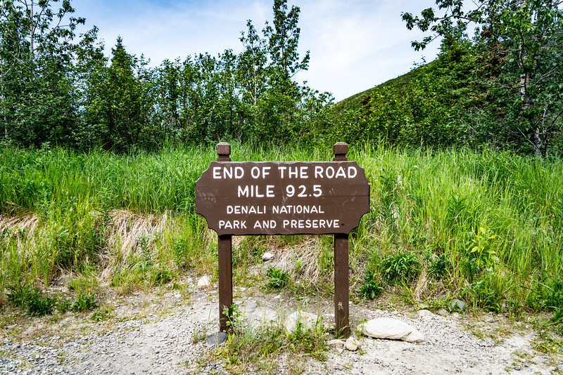 End of the Road in Denali National Park