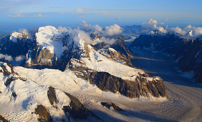 Flightseeing over Denali