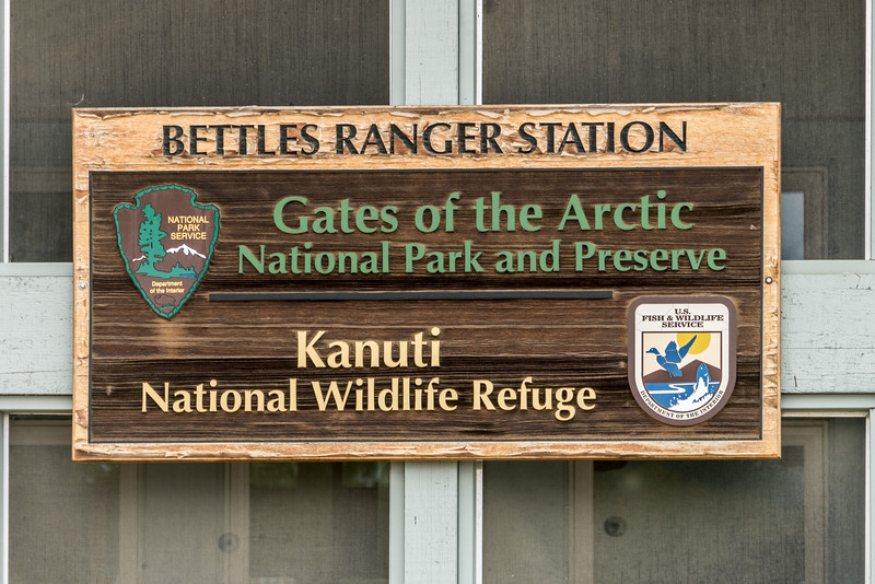 Visitor Center in Bettles, Alaska